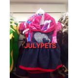 Abrigo De Plush Con Jean 25 Cm Caniche Toy Snauser Julypets