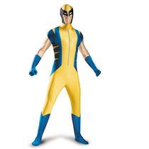 Disfraz Wolverine X Men Adulto Hombre De Lujo Talla 42/46
