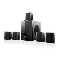 Home Theater 5.1 40w Rms Multilaser Preto - Sp087