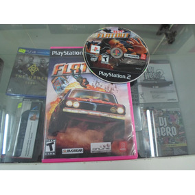 Playstation 2 Flatout 1 Original 2005 Carta Registrada R$ 10