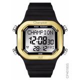 Relógio Champion Yot Digital Troca Pulseira Cp40180x Novo