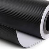 Adesivo Vinil Fibra De Carbono Moldável Carro 7 M Por 30 Cm