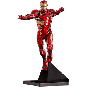 Iron Man Mark Xlvi 1/10 - Civil War - Iron Studios