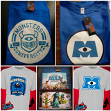 Remeras Monsters Inc University Pixar Toon *mr Korneforos*