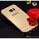 Funda Bumper Galaxy S7 Edge Aluminio Espejo Detalle Estet