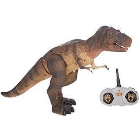 Smithsonian Rc T.rex Radio Control Dinosaurio Acción Animaci