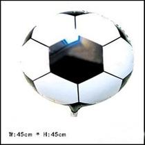 Unid Balão Metalizado Formato Bola De Futebol -