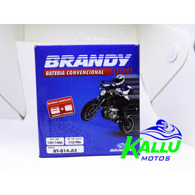 Bateria Para Vulcan 750/cbx 750 By-b14-a2 Brandy Kallu Motos