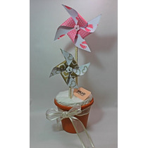 Origami Molinos De Viento (adorno, Souvenir, Decoración)