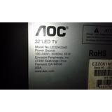 Televisor Aoc Le32w234d Desarme - Mainboard - Tiras Led