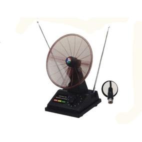 10 Antena Interna Digital Vhf/uhf/fm 3 Em 1 Mini Parabolica