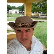 Sombrero Tipo Australiano Cocodrilo Dundee Mérida Vv4