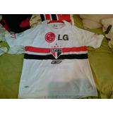 Camisa São Paulo Reebok Rarissima Nova