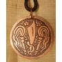 Medalha Dos Orixás - Iansã - Oya, Espada E Chicotes