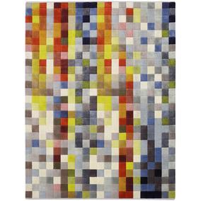 Tapete São Carlos Pixel Colorido 2,00 X 2,90 - 12x Sem Juros