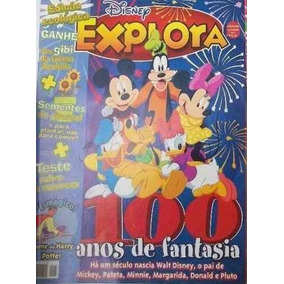 Revistas Disney Explora - 100 Anos De Fantasia