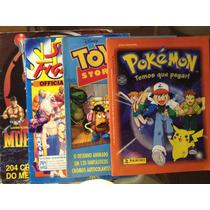 Lote Álbum De Figurinhas Antigos Anos 90 Completos