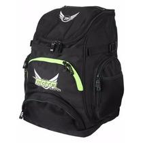 Mochila Mota Backpack. Tipo Skate Con Bolsas Compartimentos