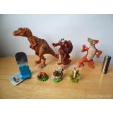 Lote De Figuras La Era De Hielo Scrat Buck Dinosaurio Pl6