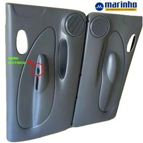 Forro Porta Fiesta/courier 2003a2012 2pta Eletric C/tela Par