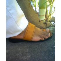 Sandalias De Cuero Para Caballeros