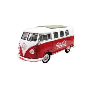 Miniatura Volkswagen Kombi Coca Cola 1962 V 1:18 Motor City