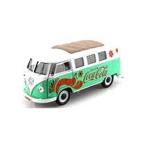 Miniatura Volkswagen Kombi Coca Cola 1962 1:18 Motor City