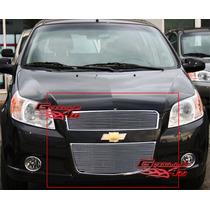 Chevrolet Aveo Parrilla Billet Acabado Espejo Importada