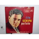 Tito Schipa Porteño La Cumparsita Simple Argentino C/ Tapa
