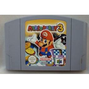 N-64: Mario Party 3 Original Americano! Raríssimo! Jogaço!