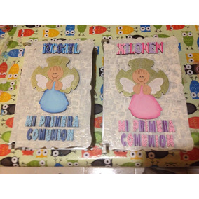 Porta Biblias Personalizadas Para Niño Y Niña