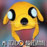 Gorros Jake Y Otros Personajes Tejidos Al Crochet