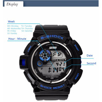 Relógio Masculino Skmei Famis S-shock Digital Prova D