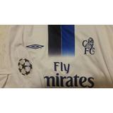 Camisa Do Chelsea Manga Longa Drogba - Futebol no Mercado Livre Brasil aebbd12afca7e