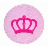 Tapete Coroa Provençal Rosa 1,25m Para Quarto De Meninas