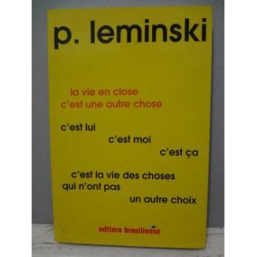 Livro La Vie En Close - Paulo Leminski
