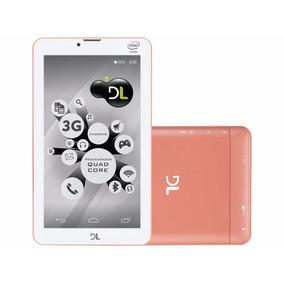 Tablet Dl Tecphone 3g + Função Celular Dual Chip Android 5.1