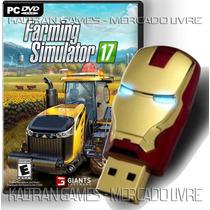 Farming 17 Simulador Fazenda Pc Game Envio Em Pendrive 16gb