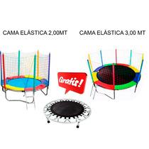 Kit Promocional Cama Elástica 2,00 Mt E Cama Elástica 3,00 M