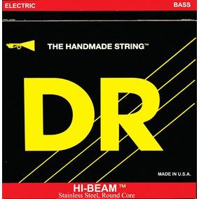 Encordoamento Dr Hi - Beam Para Baixo De 5 Cordas - Leve