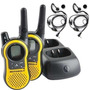 Par Radio Comunicador Motorola Talkabout Mh230 37km Com Fone