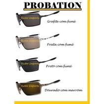 Óculos Probation Lente 100% Polarizada + Brinde