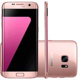 Smartphone Samsung Galaxy S7 Edge Rose 32gb Tela De 5,5 Oct