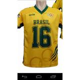 Camisa De Futebol Americano Da Seleção Brasileira