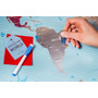 Mapa Mundial Para Raspar Tus Viajes - Personaliza - Poster