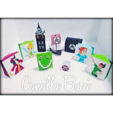 Caixa Personagens Peter Pan Decoração Festa Infantil C/10
