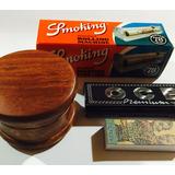 Ocb Picador De Tabaco + Máquina Smoking + Papel + Filtros !