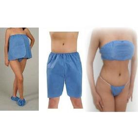 Paquete Spa Bikini, Sandalia, Top Y Bata Strapple