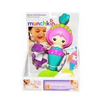 Sereia Colorida Golfinho Brinquedo Para Banho Munchkin