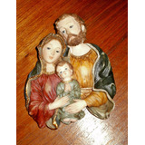 Imágen Figura Religiosa Sagrada Familia Marca Santini
